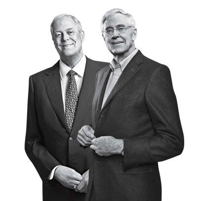 TIME 100 2015 Koch Brothers Charles Koch David Koch