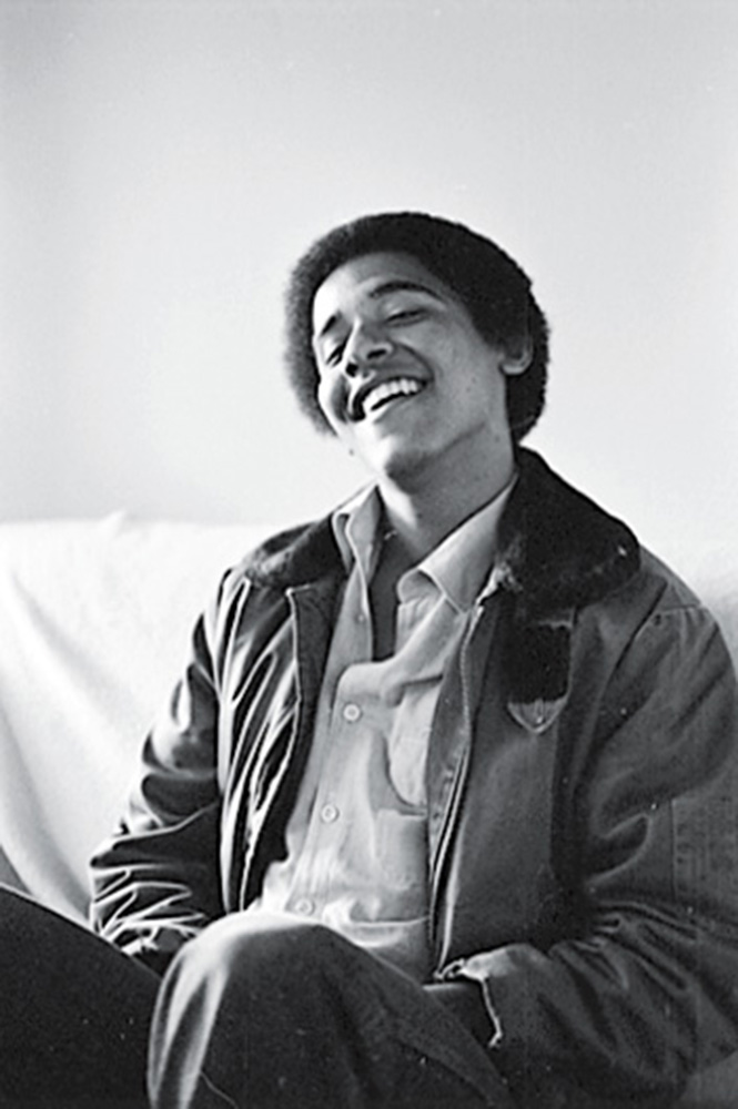 "<b>Smile</b>                                   When she found them, the images of Obama ""blew me away,"" she says. ""I had no idea I'd taken a whole roll of film."""