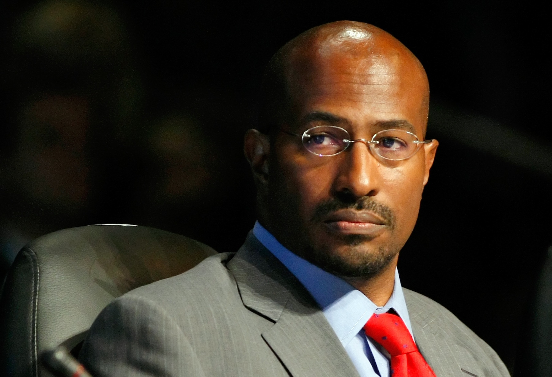 Van Jones, former White House green-jobs czar, or Special Adviser for Green Jobs, Enterprise and Innovation at the White House Council on Environmental Quality