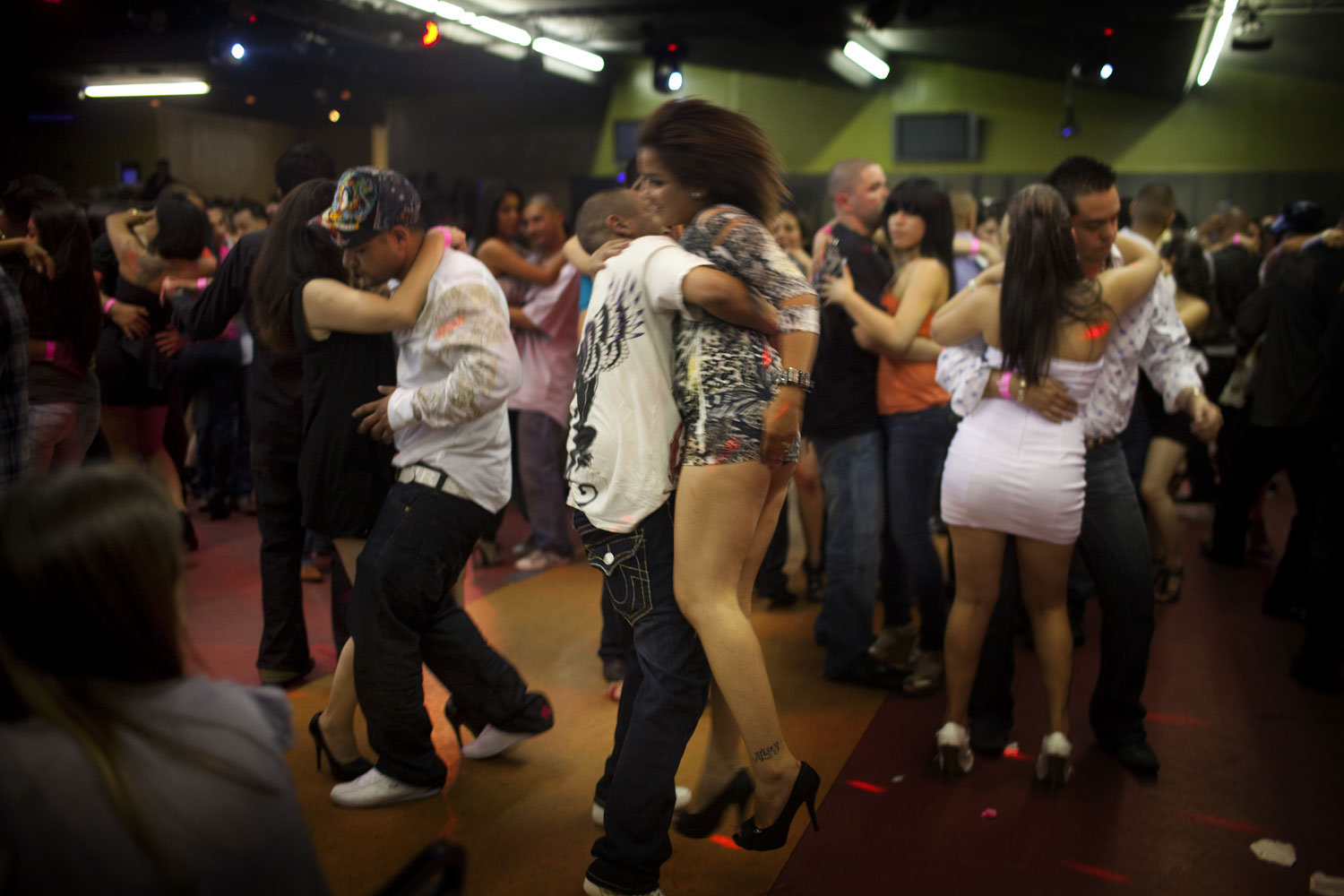 On the Dance Floor                               The clubs specializing in narcocorridos attract many Mexican Americans in search of an identity that connects them to their heritage across the border