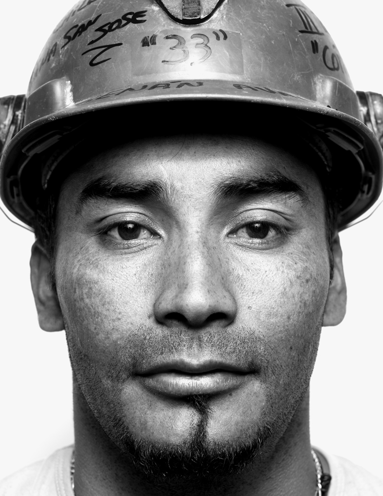 Renán Avalos, 30, explosives specialist.                               Avalos, whose brother is assistant foreman Florencio, lives 12 hours away from the mine, and when working, is only able to visit his wife and son every other week.  I like mining,  says Avalos.  I just don't want to go so deep underground again.