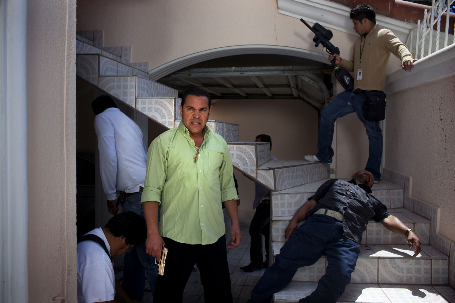 Gangsta Grind                               Baja Films, the production company behind Las Aguilas Andan Solas, is one of the larger players in the narco-film industry