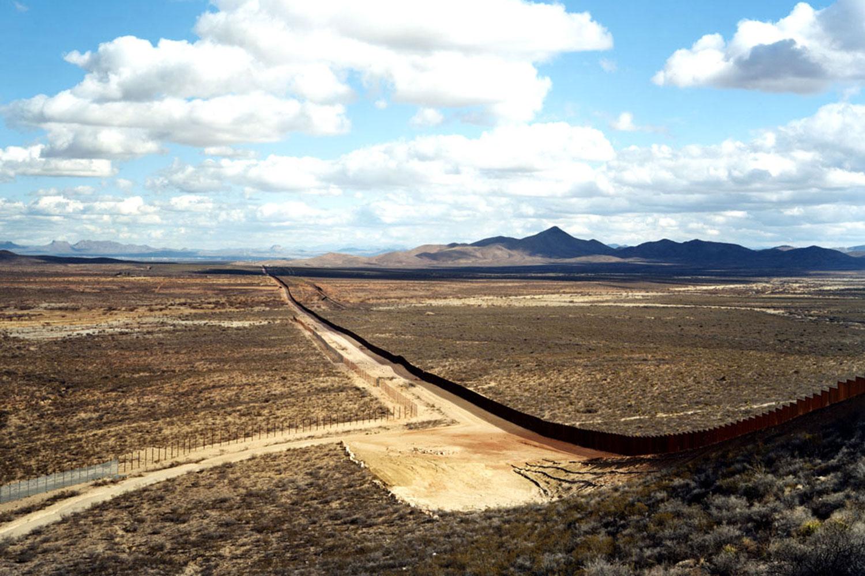 Untitled, 2010 (Border fence) Near Naco, AZ