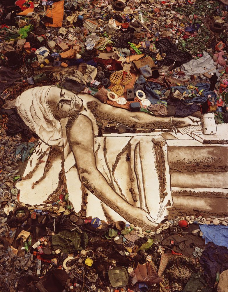 The final image of Tiao, titled Marat/Sebastio, from the series Pictures of Garbage