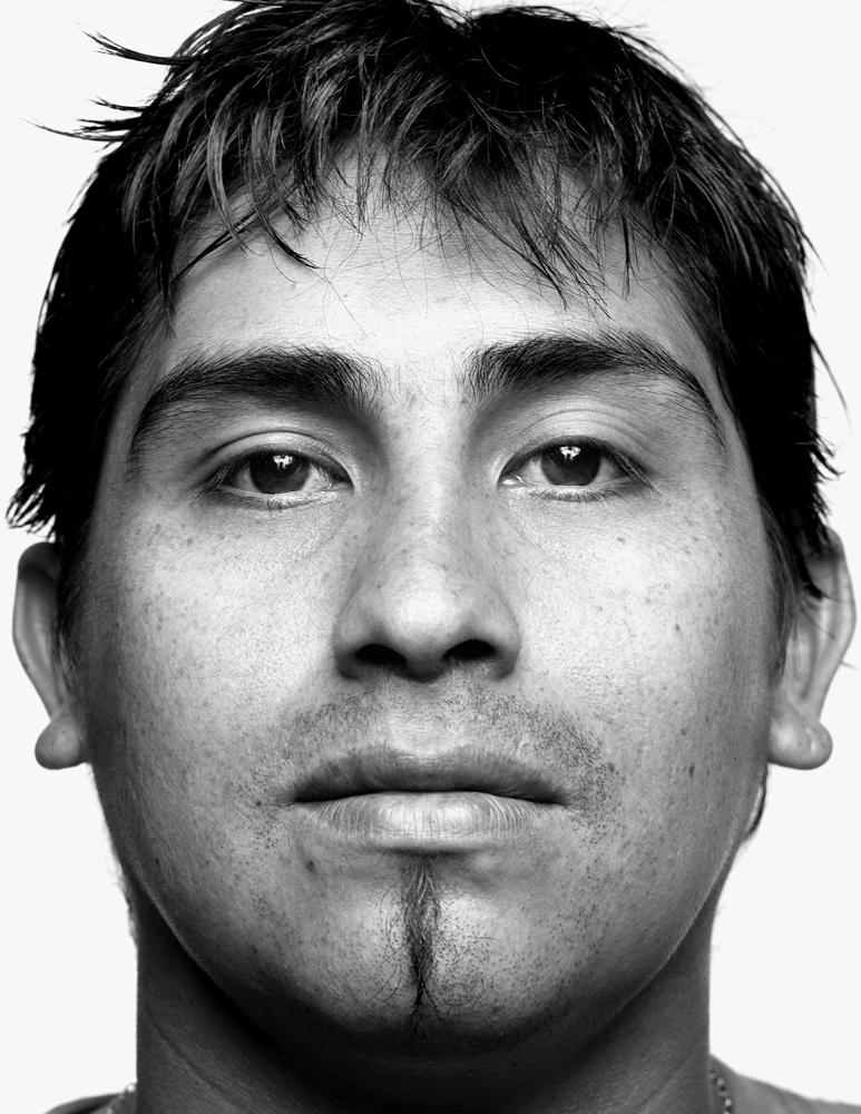 Richard Villarroel, 26, mechanic.                                God exists,  says Villarroel, who grew up in Patagonia.  Los 33 are proof.