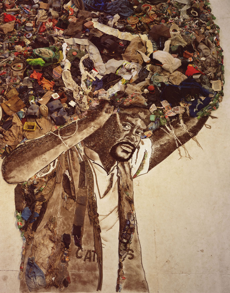 Atlas (Carlão), from the series Pictures of Garbage