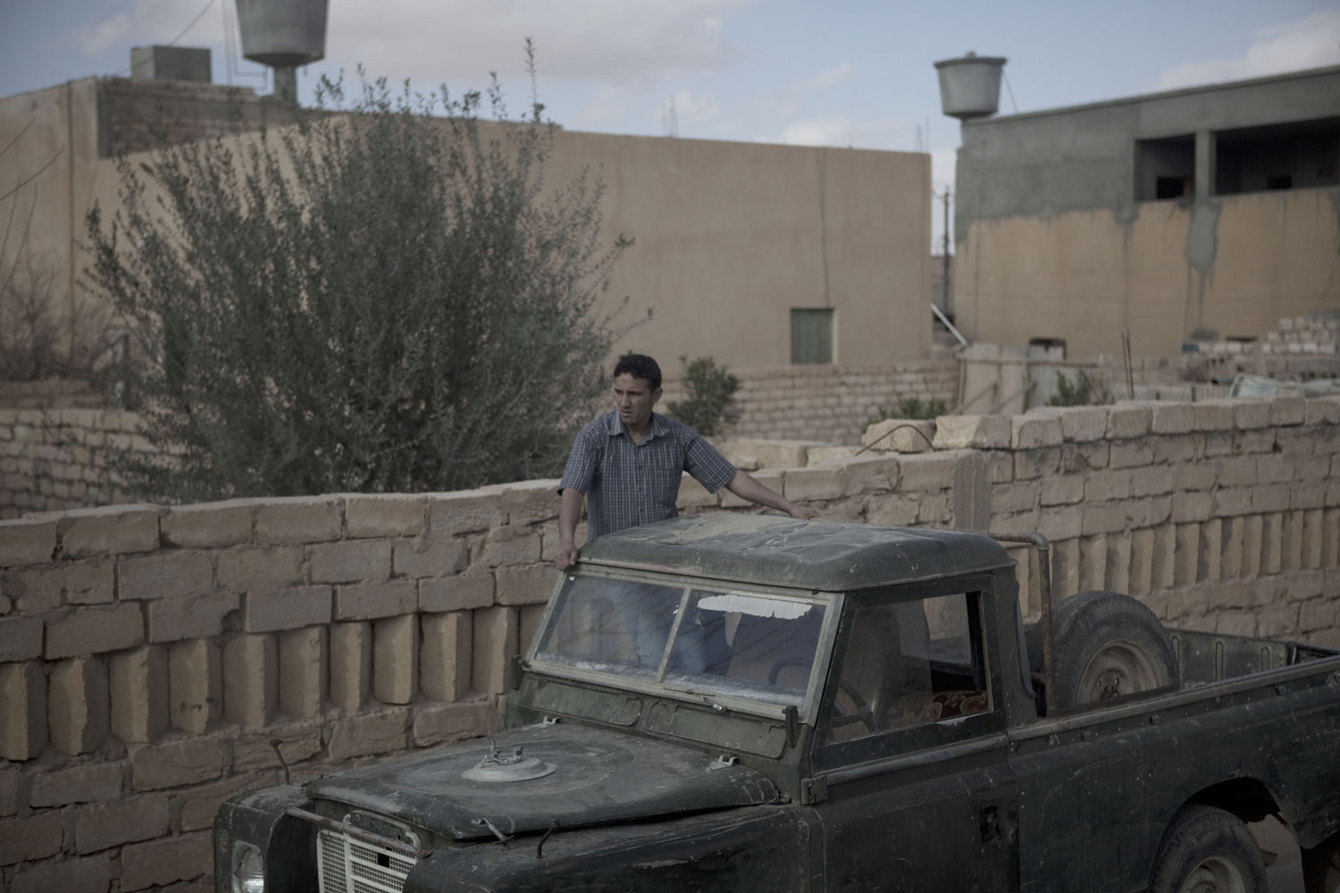 The outskirts of the demonstration in Ban-Waled, March 23, 2011.