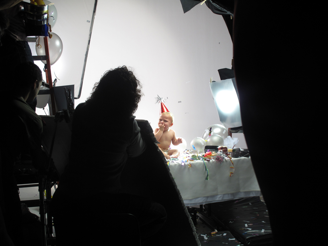 Behind the scenes at TIME's cover shoot in New York City using the Red One digital camera.