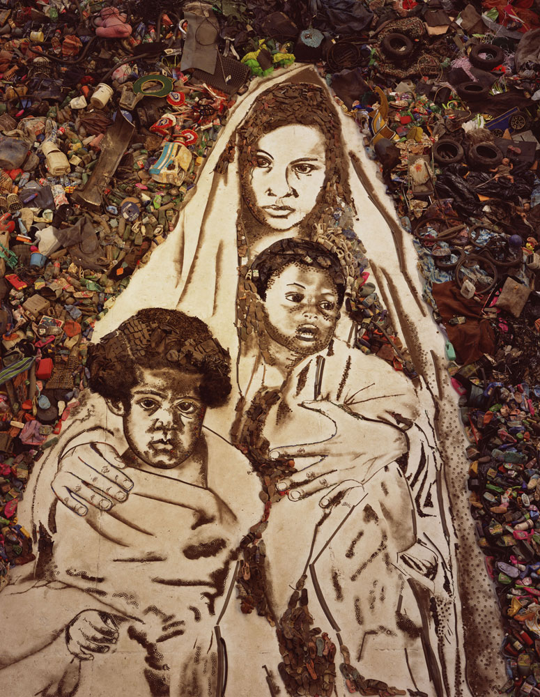 Mother and Children, from the series Pictures of Garbage