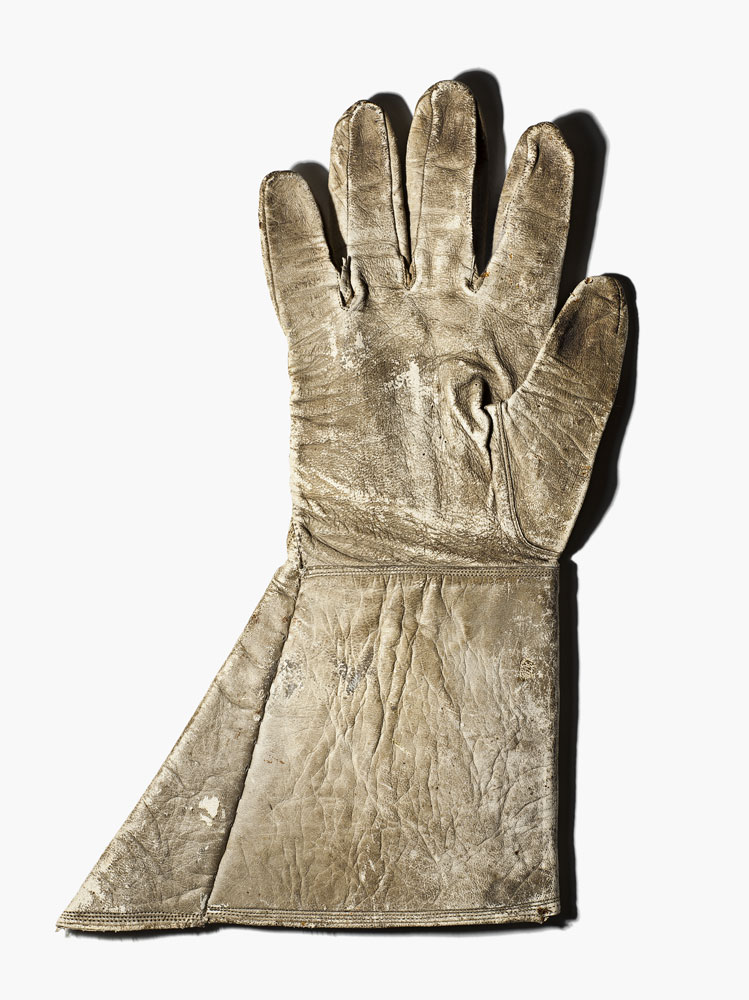 A glove belonging to Thomas Jonathan  Stonewall  Jackson, a Confederate General considered to be one of the most gifted tactical commanders in US history.