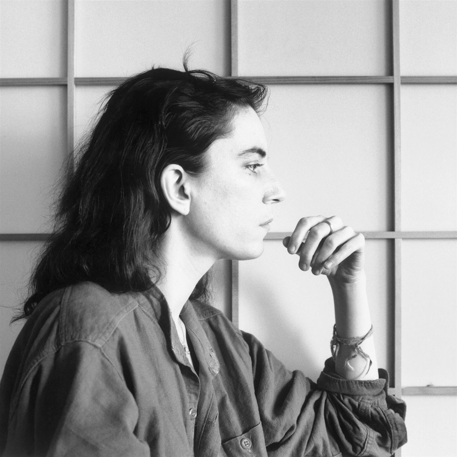 Robert Mapplethorpe's last image of Smith before she withdrew from public life, San Francisco 1979