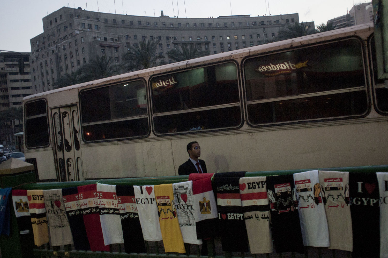 Vendors near Tahrir Sqare, April 4, 2011.