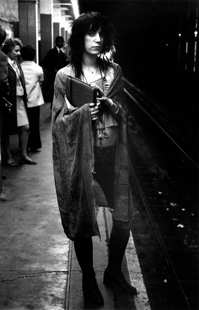 The 68th Street subway station in New York City, 1971