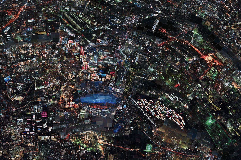 Diorama Map Night, 2009/2010, Detail