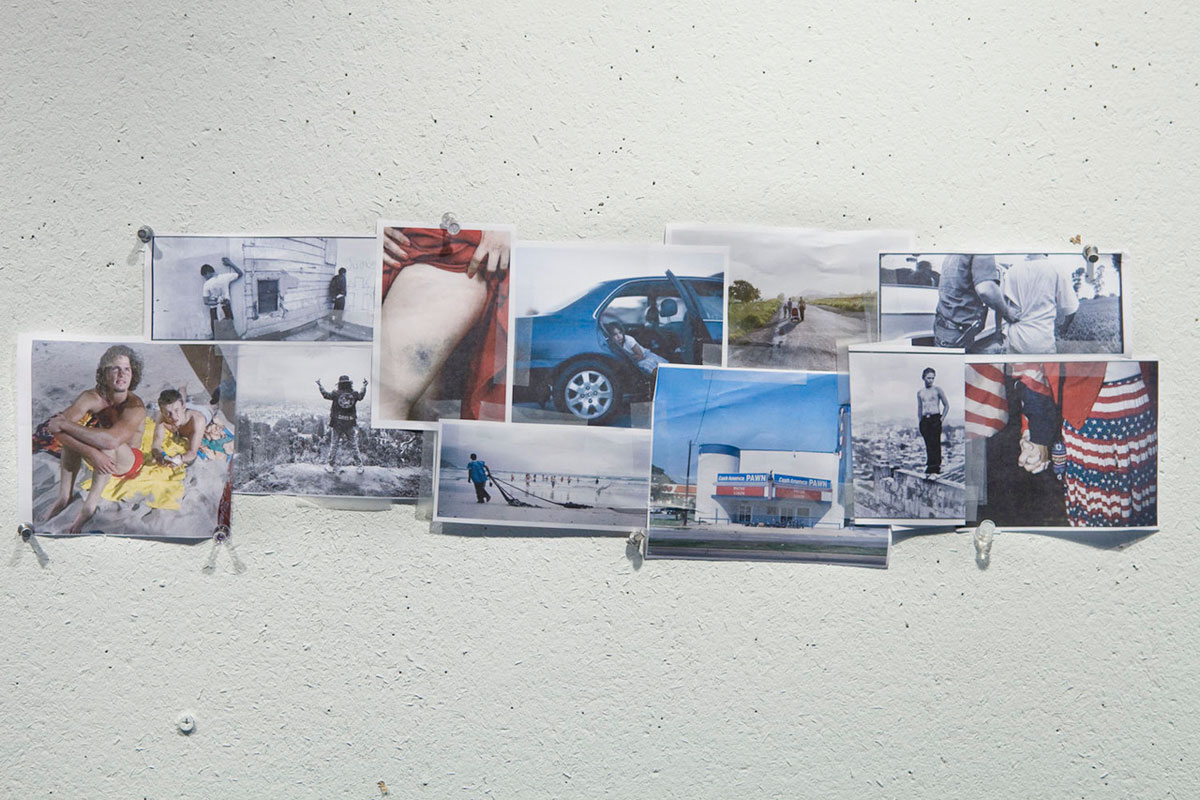 The contributors to Postcards From America have set up a public blog to share their inspirations and conversation with an audience. This collage was Jim Goldberg's first Tumblr post.