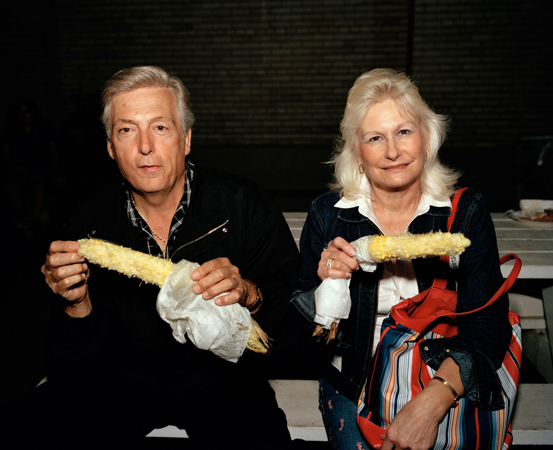 Couple Eating Corn, Labor Day, New York State Fair, Syracuse, NY