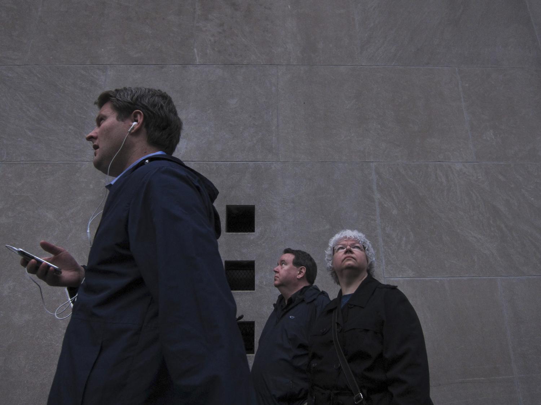 Ground Zero, New York City.  May 2, 2011.
