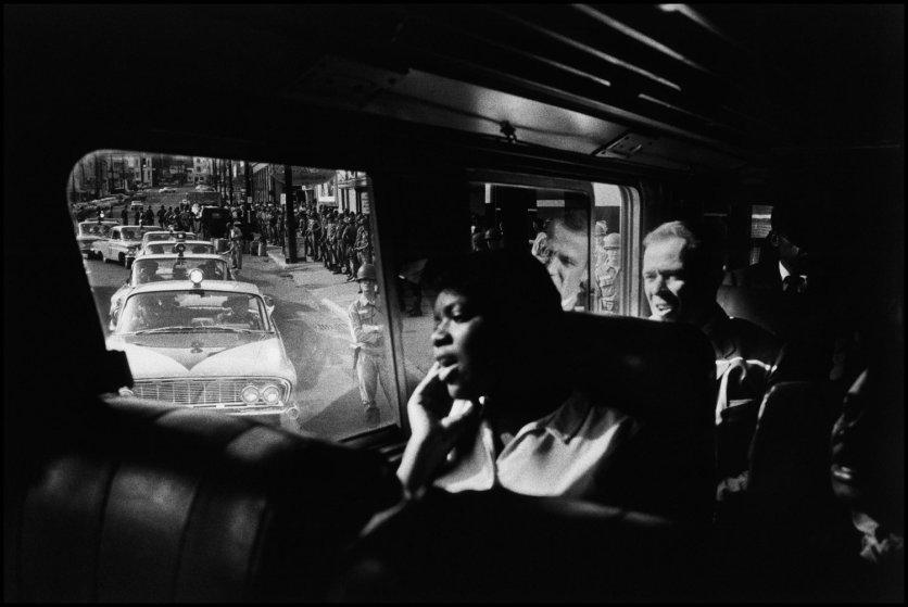 Freedom Riders bus trip to Jackson, MS