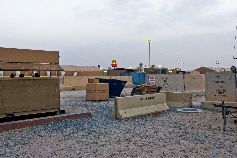 Ali Al Salem Air Force Base. Kuwait, 2010.