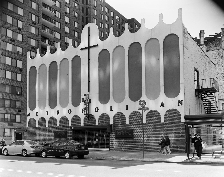 The Metropolitan Church, on West 135th Street in Manhattan. 2009.
