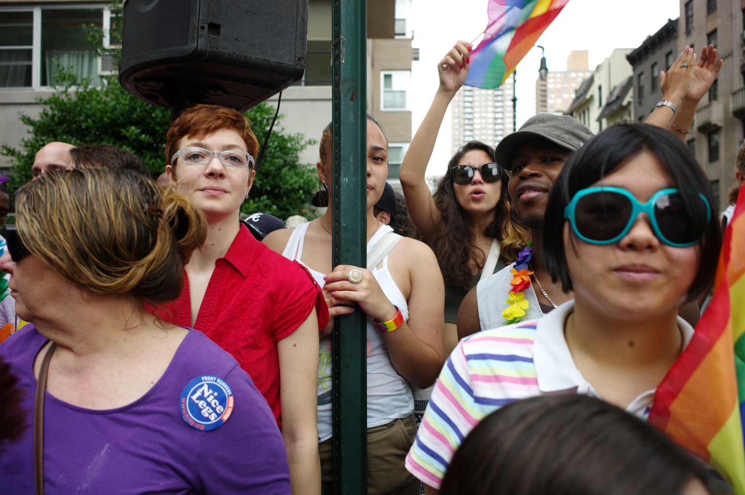 Scenes from the parade, June 26, 2011.
