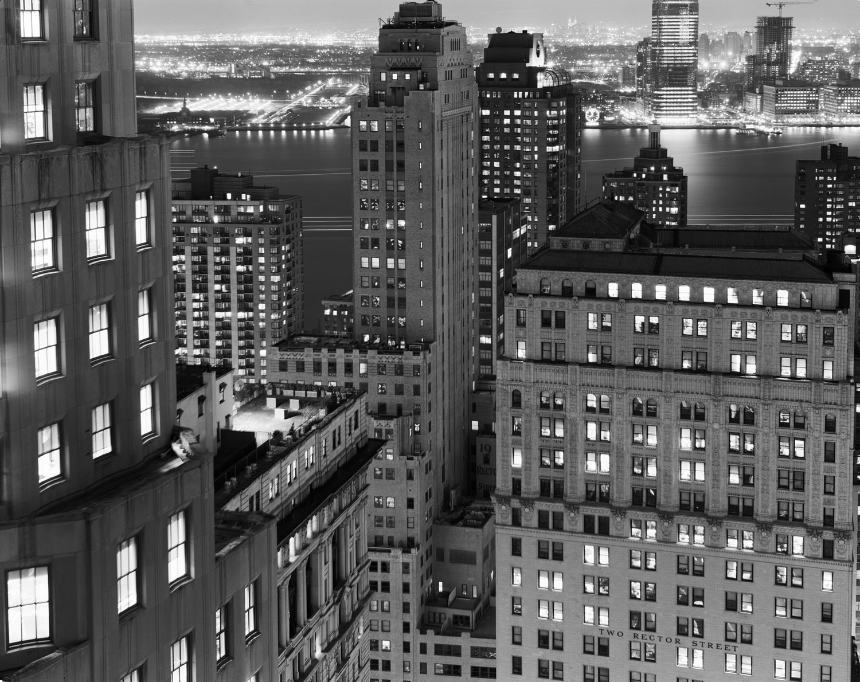 View of lower Manhattan. 2010.