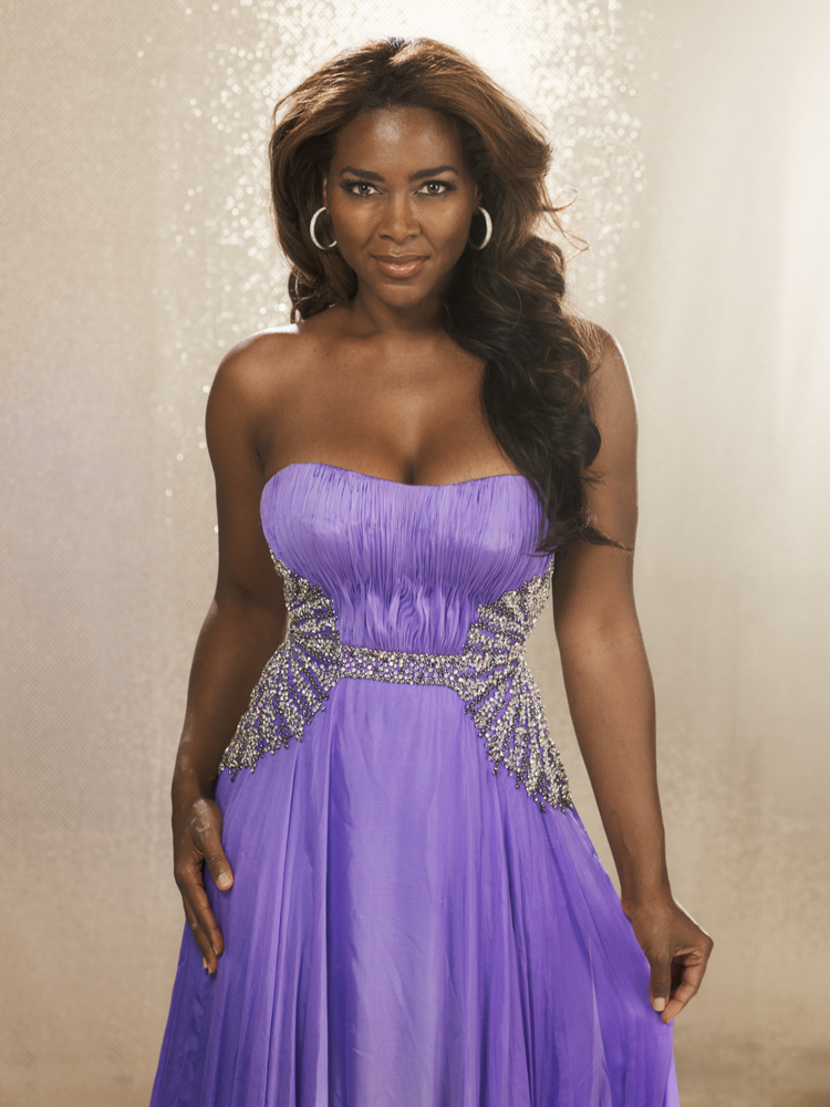 Kenya Moore, 40 Year crowned: 1993                                On being one of the first black Miss USAs:  I have dark skin and I'm a voluptuous woman. I'm so grateful I was recognized for that. There are a lot of little girls who grow up not thinking they're pretty because they're black or don't have thin noses or hair down their backs. It's such an honor to be able to be an example that tells them they are beautiful.                                Photographed on June 18, 2011.