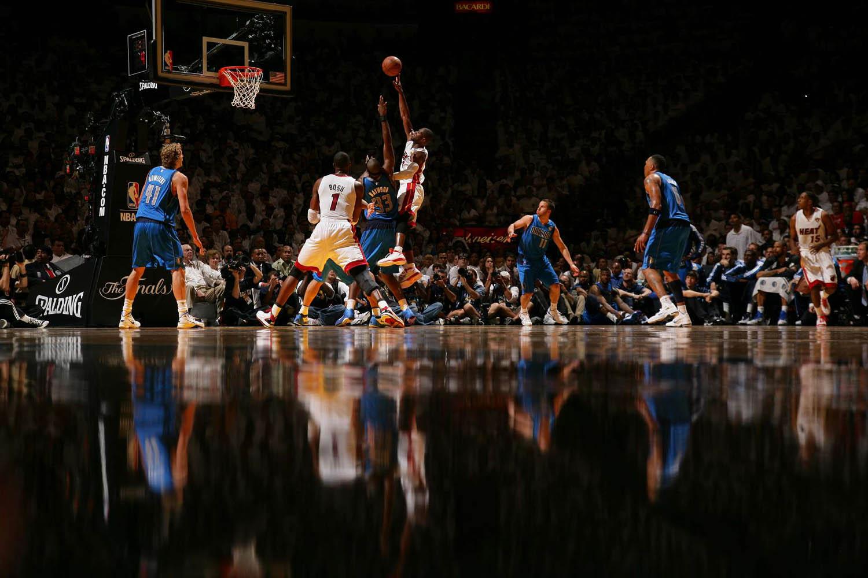 NBA Finals Dallas Mavericks vs. Miami Heat Game 1, American Airlines Arena, Miami, Florida, May 31, 2011.