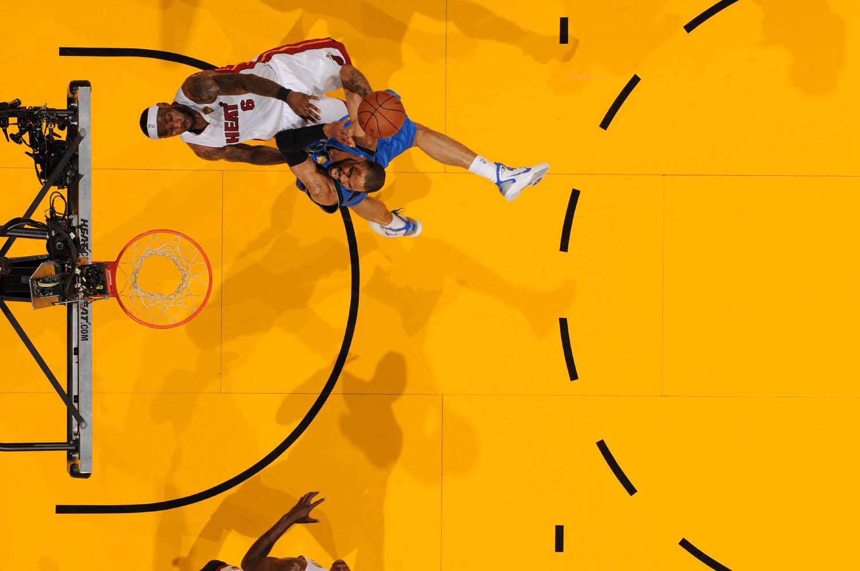 NBA Finals Dallas Mavericks vs. Miami Heat Game 6 at the American Airlines Arena, Miami, Florida, June 12, 2011.