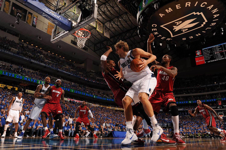 NBA Finals Miami Heat vs. Dallas Mavericks Game 3, American Airlines Center, Dallas, Texas, June 5, 2011.