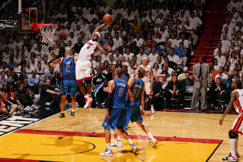 NBA Finals Dallas Mavericks vs. Miami Heat Game 2, American Airlines Arena, Miami, Florida, June 2, 2011