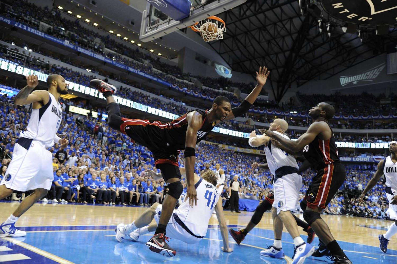 NBA Finals Miami Heat vs. Dallas Mavericks Game 5, American Airlines Center, Dallas, Texas, June 9, 2011