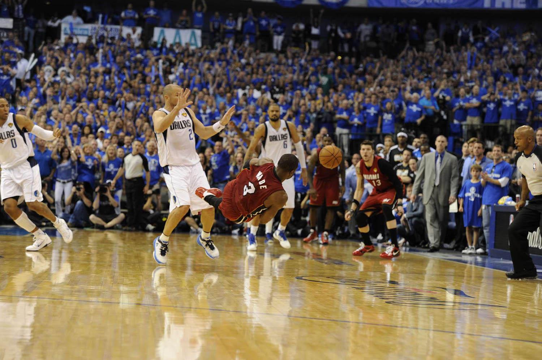 NBA Basketball:  NBA Finals Miami Heat vs. Dallas Mavericks Game 4,                               American Airlines Center, Dallas, Texas, June 7, 2011