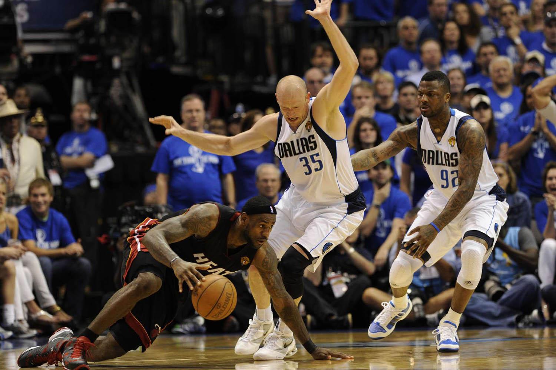 NBA Finals Miami Heat vs. Dallas Mavericks Game 5, American Airlines CenterDallas, Texas, June 9, 2011.