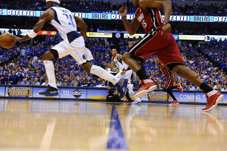 NBA Finals Miami Heat vs. Dallas Mavericks Game 4, American Airlines Center, Dallas, Texas, June 7, 2011.