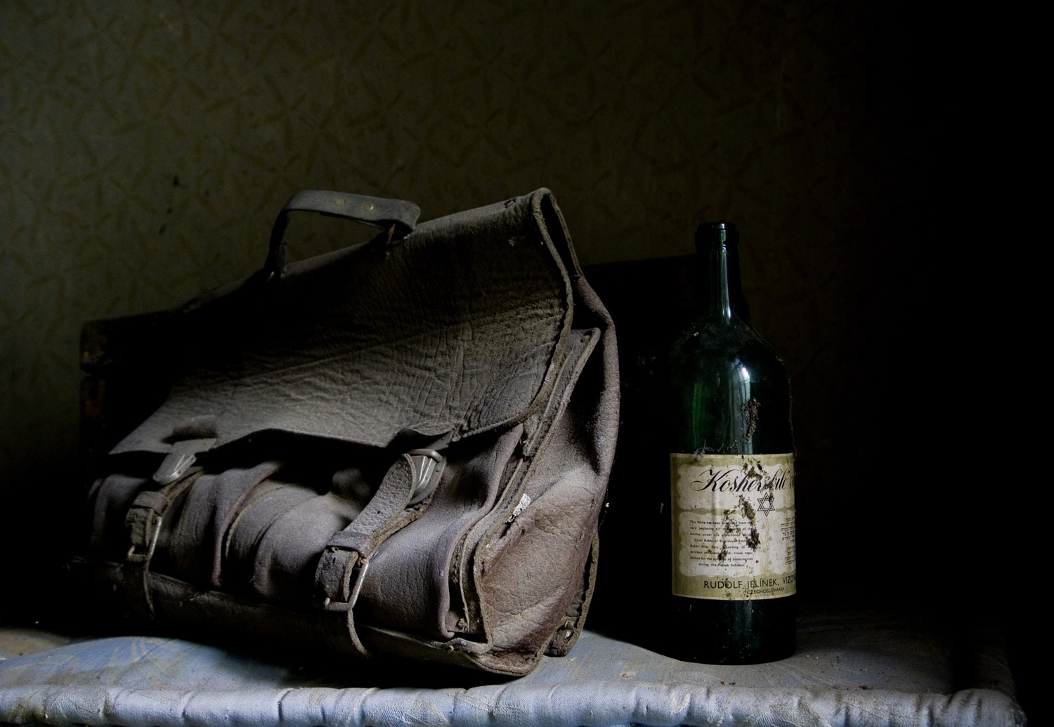 A satchel found in the attic at the school in Bardejov