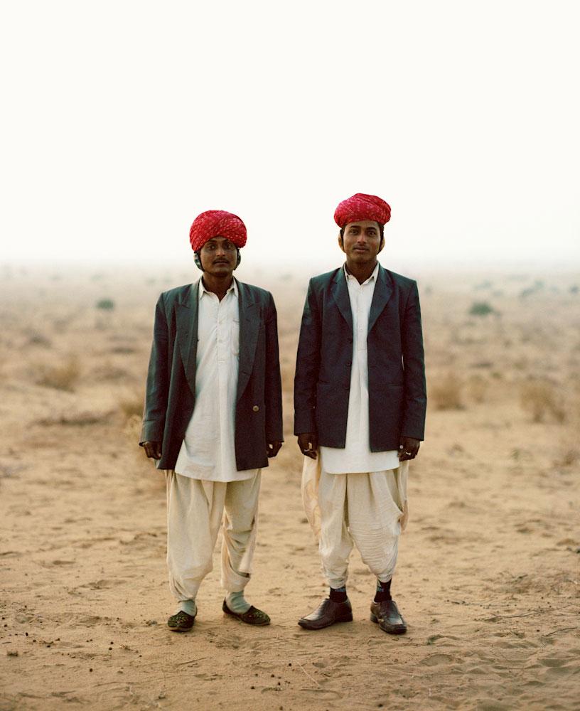 Musicians, Thar Desert, Rajasthan 2010
