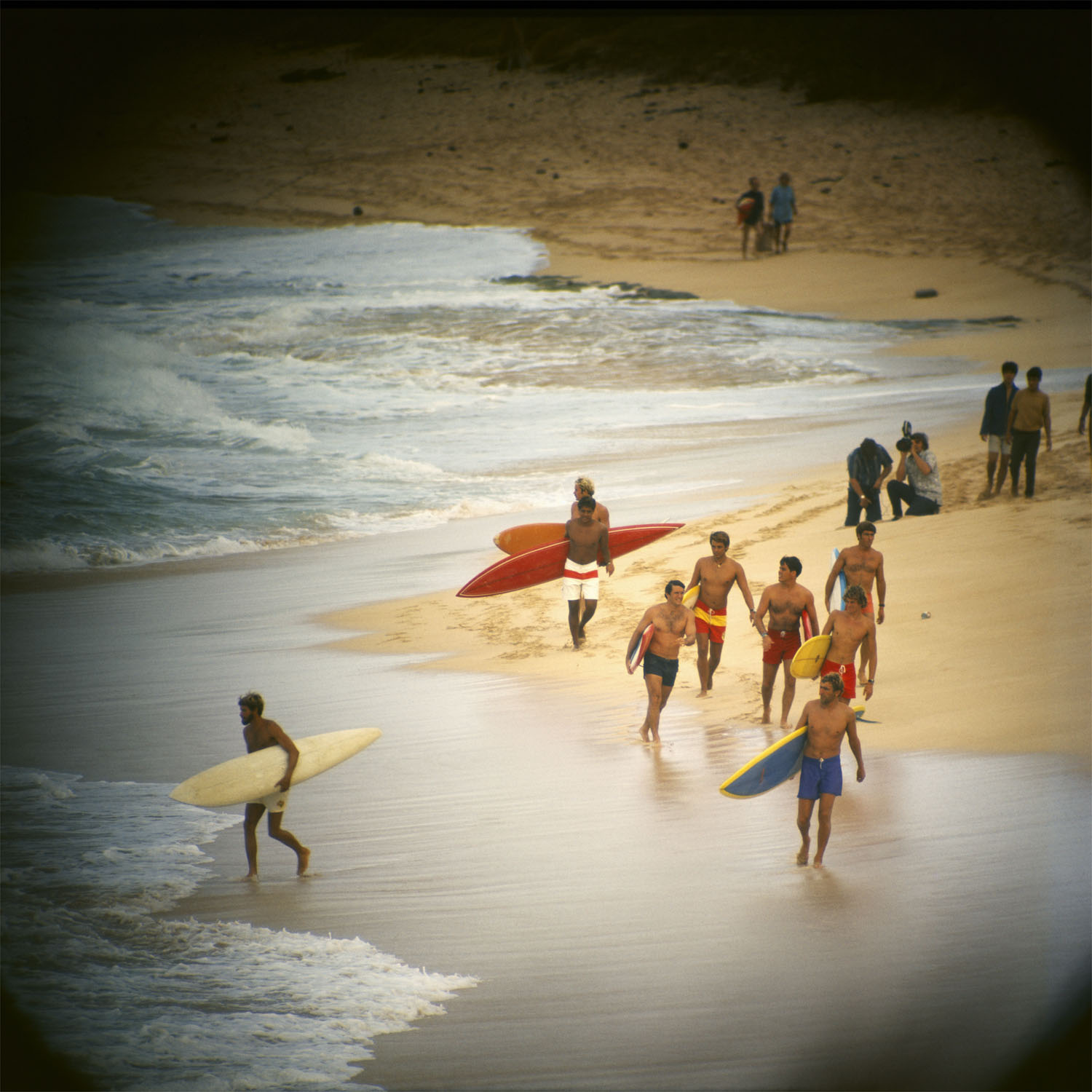 Duke Contest Finalists, Sunset Beach, 1968