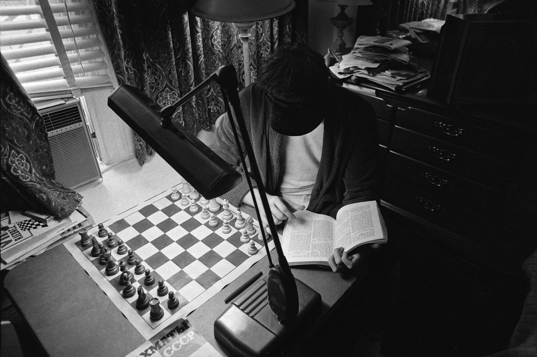 Studying at Grossinger's resort, 1972