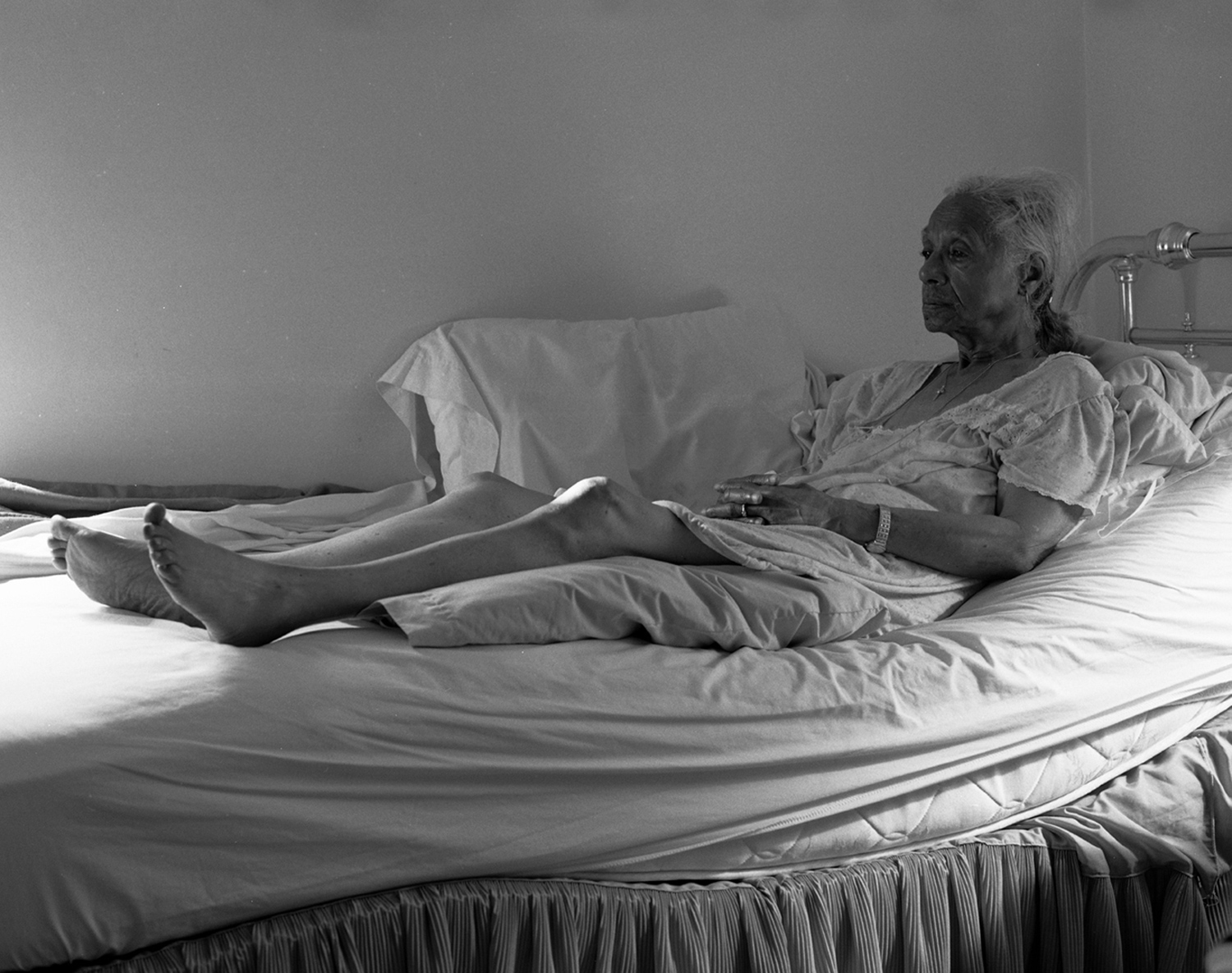 <em>Grandma Ruby on Her Bed</em>, 2005. From the series <em>The Notion of Family</em>.