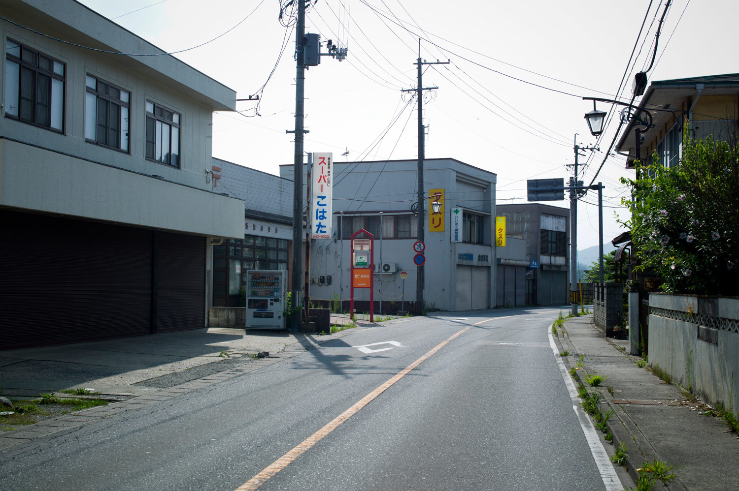 A deserted city within the exclusion zone, August 13, 2011.