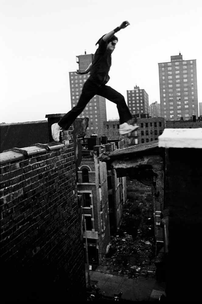Ralph Jumps  was made on the first day of an assignment documenting the Bronx, New York for Look magazine the day before it folded in 1977. (Please note: Photographs in the book are not accompanied by caption information and names are omitted to protect the identity of the subjects.)