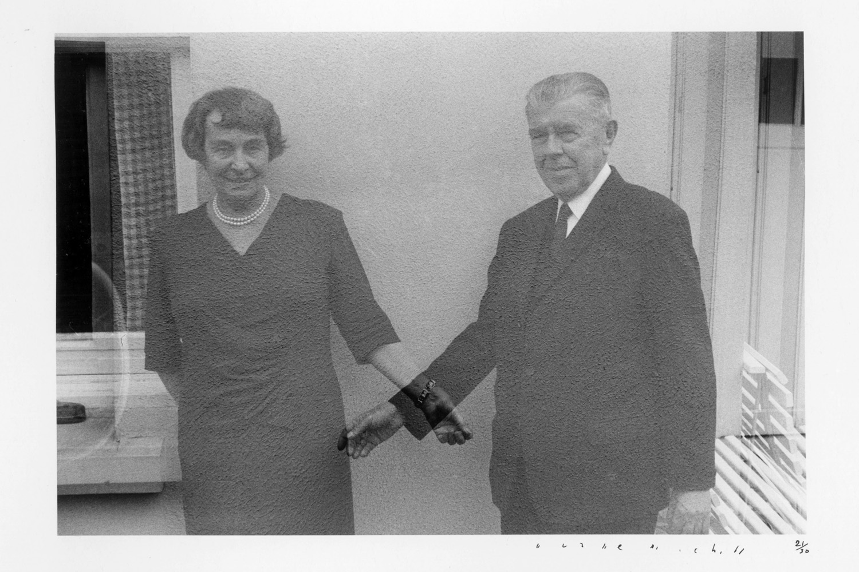 Rene and Georgette (Multiple Exposure), 1965
