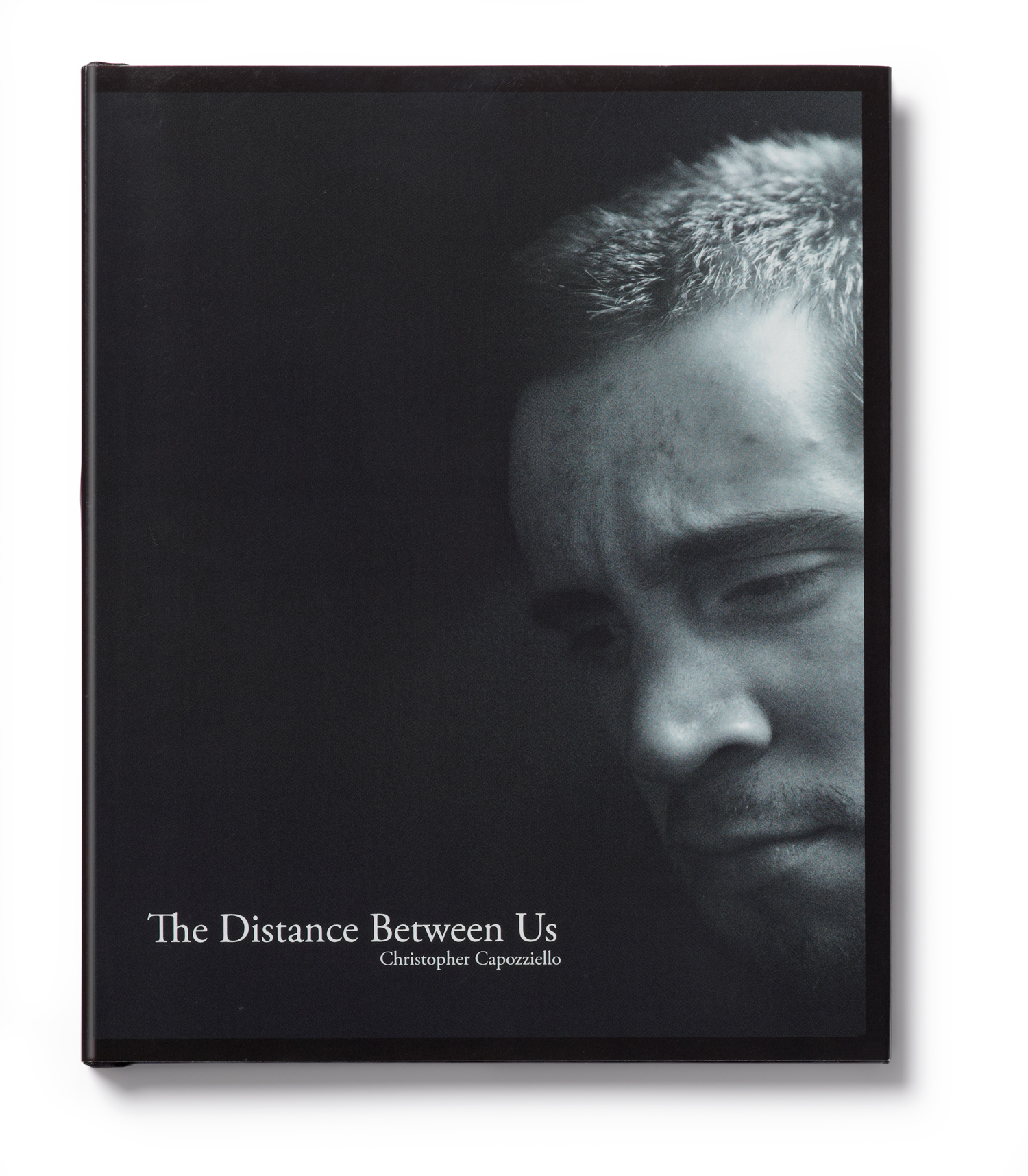 The cover of The Distance Between Us by Christopher Capozziello, was the first runner-up in the documentary category.