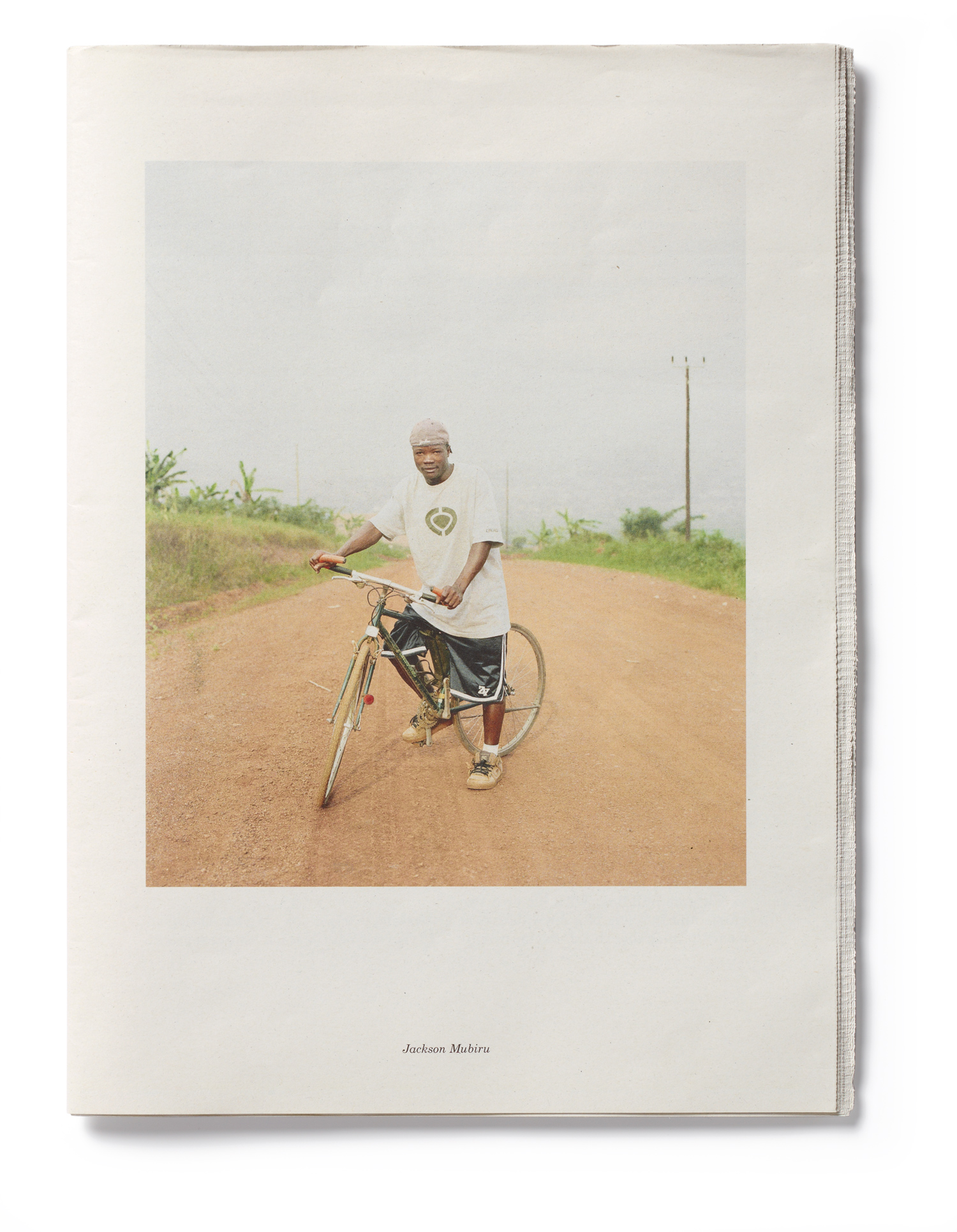 A portrait of Jackson Mubiru from Yann Gross's book Kitintale, which was second runner-up in the documentary category.