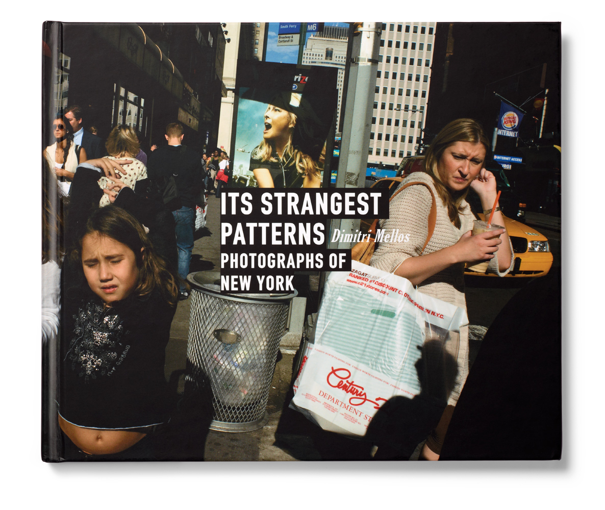 The first runner-up in the travel category was Dimitri Mellos' book Its Strangest Patterns: Photographs of New York.