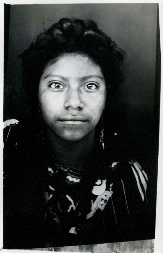 Mayan Queen Magdalena Quinilla Batz, 15, represents Canilla, in Guatemala's Quiche state.