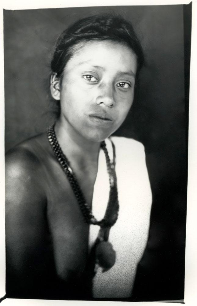 Mayan Queen Matilde Teresa Bol Maas, 16, represents Lanquin in Guatemala's Alta Verapaz state.
