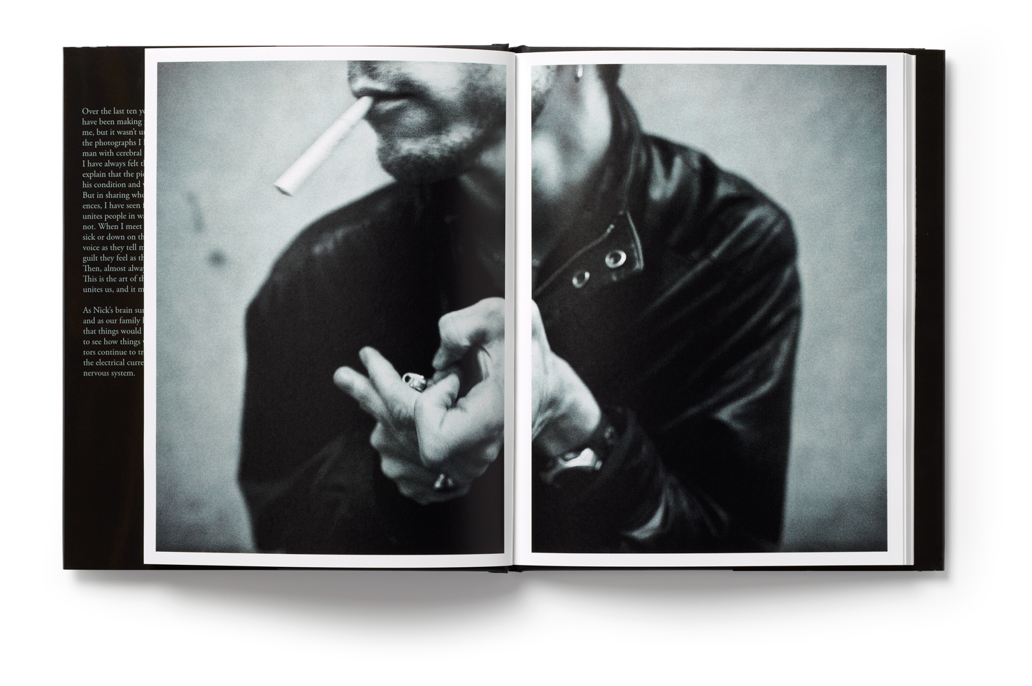 Inside spread from The Distance Between Us by Christopher Capozziello.