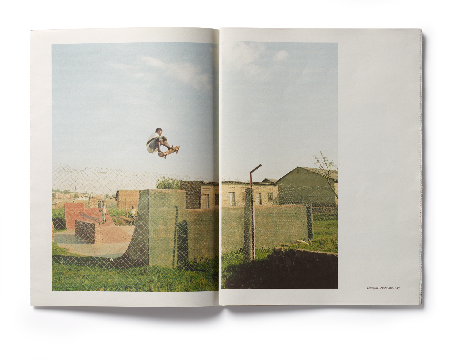 An inside spread from Yann Gross's book Kitintale, which was the second runner-up in the documentary category.